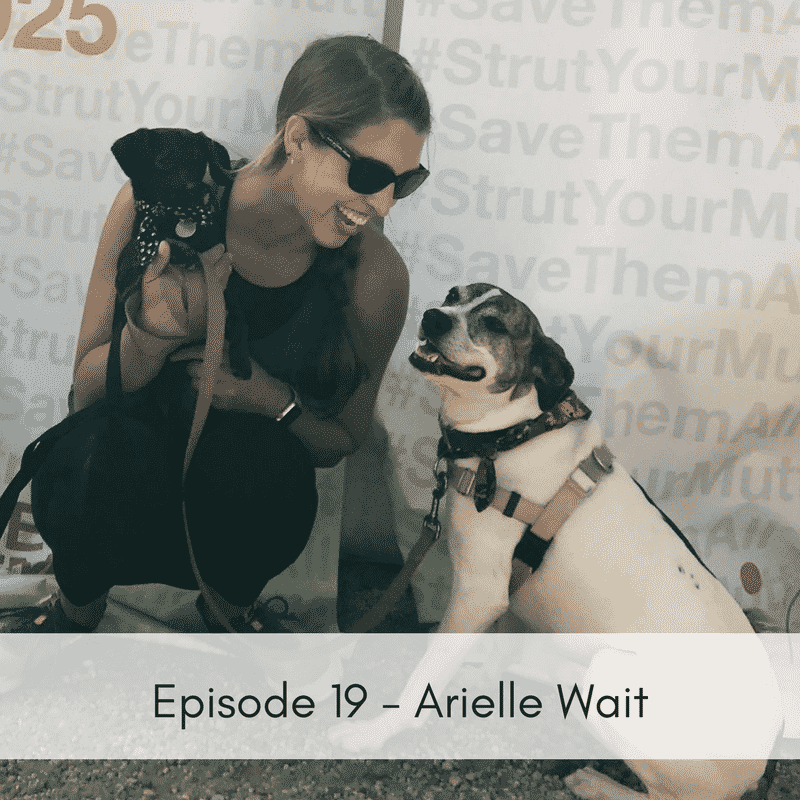 Episode 19 – Arielle Wait, Lucky Dog Animal Rescue